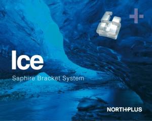 BRACKET ESTÉTICO DE ZAFIRO SERIE ICE ROTH Y MBT .022, HOOK EN 3-4-5 NORTHPLUS ORTHODONTICS