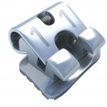 Bracket Metálico Autoligado Flair SLT, supertorque en 11, 12, 21, 22 (fabricación 3 CAD-CAM/CNC), 1 Caso de 20 piezas, marca ADENTA