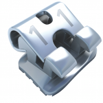 Tubos de Autoligado Flair SLT MBT .022, (fabricación 3 CAD-CAM/CNC), 4 tubos de segundo molar (17, 27, 37, 47), marca ADENTA