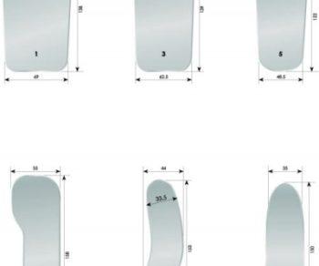 Espejo fotografía intraoral anti vaho Trueoptics - Adenta - Centraldent