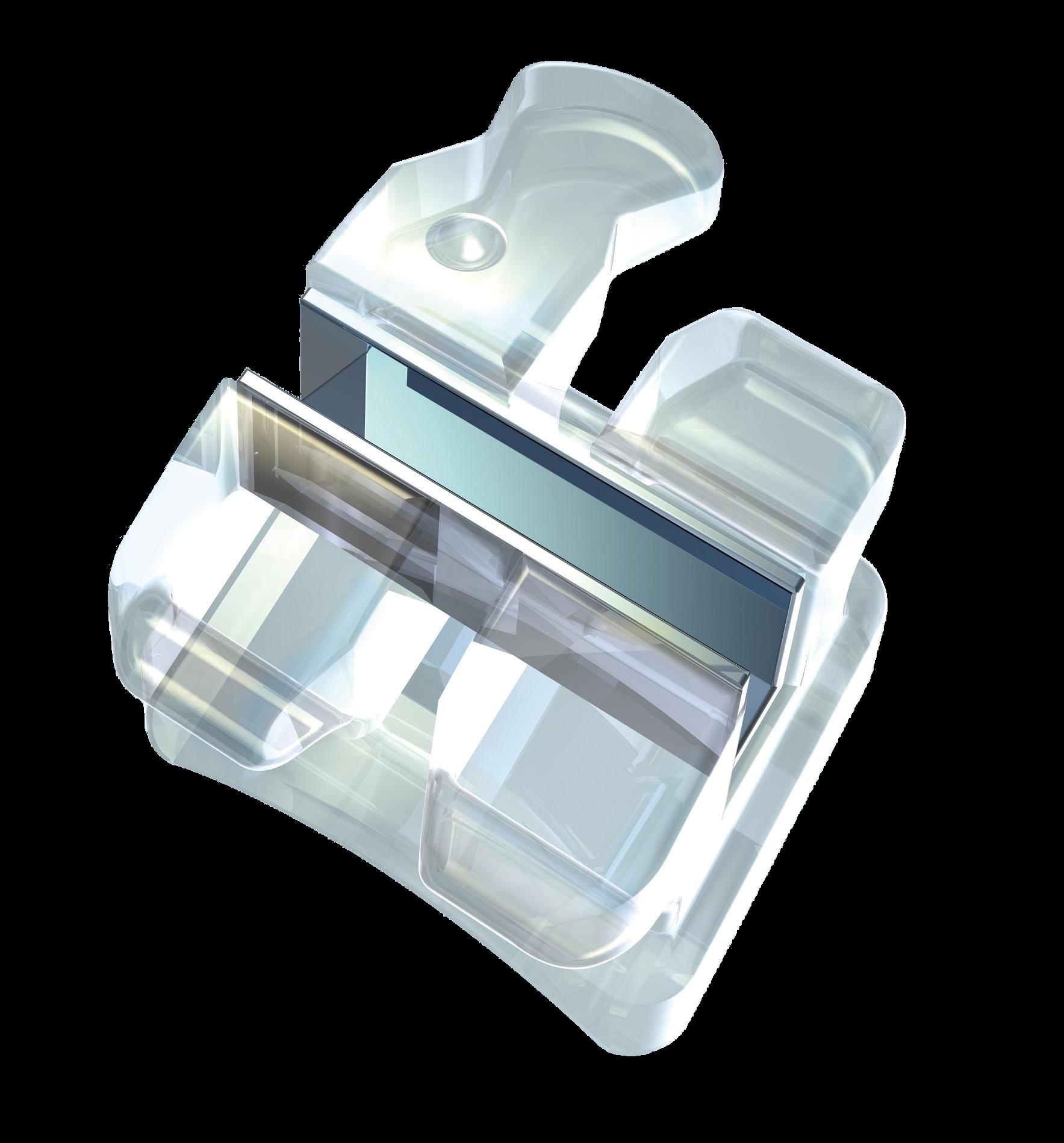 Bracket cerámico con ranura metálica Aurora Northplus Orthodontics