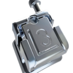 Bracket Metálico Autoligado Pasivo serie Borealis Roth .022, 1 Caso de 20 piezas, Hook en canino NORTHPLUS ORTHODONTICS