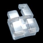 Bracket Estético de Zafiro Serie Ice, MBT .018, 1 caso de 20 piezas, Hooks en 3, 4 y 5 NORTHPLUS ORTHODONTICS (copia)
