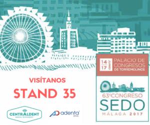 Stand SEDO Málaga Centraldent - Adenta
