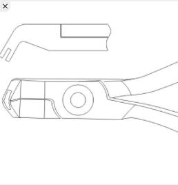 Alicate para crimpar SP-110 Northplus