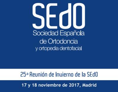 Centraldent asistirá a la 25ª Reunión de Invierno de la SEDO en Madrid los próximos 17 y 18 de Noviembre. Visítanos en el stand nº 12