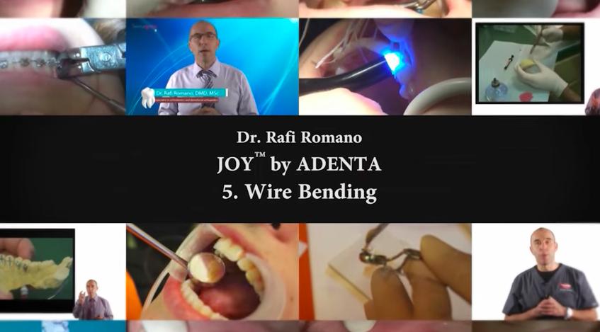 Nuevo vídeo de CURSO DE ORTODONCIA LINGUAL con el Dr. Rafi Romano – Parte V