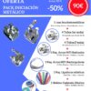 PACK INICIACIÓN METÁLICO - 50% DESCUENTO