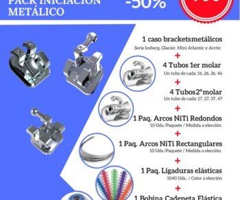 Pack iniciación metálico NORTHPLUS ORTHODONTICS