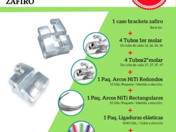 Pack iniciación zafiro Northplus Orthodontics