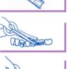 Aplicador para elásticos intraorales (100 piezas)