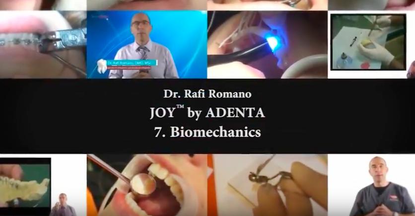 Nuevo vídeo de CURSO DE ORTODONCIA LINGUAL con el Dr. Rafi Romano – Parte VII