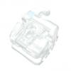 Bracket de Autoligado Estético Breeze SL, color del diente, Roth .018, 1 caso de 20 piezas, Hook en 3, marca ADENTA