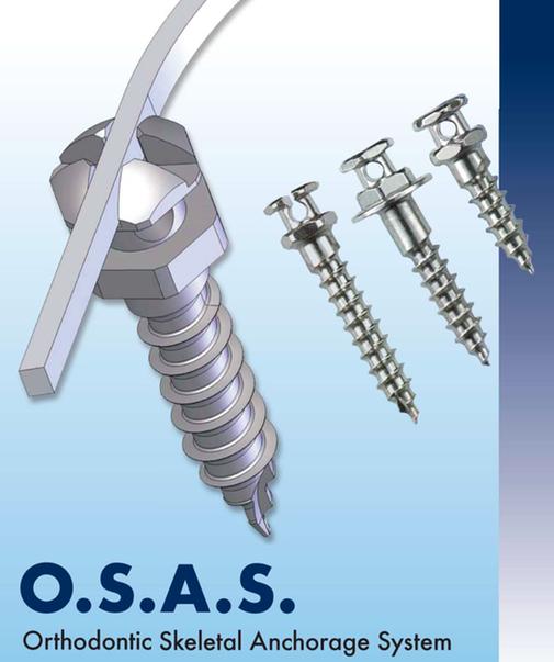 Nuevo catálogo microtornillos O.S.A.S. (Dewimed)