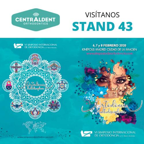 Centraldent te invita al  VI SIMPOSIO INTERNACIONAL DE ORTODONCIA en Madrid los próximos 6, 7 y 8 de Febrero.