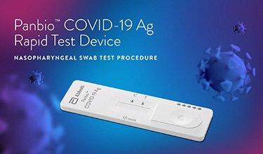 Panbio COVID-19 Ag Rapid Test Device de ABBOTT