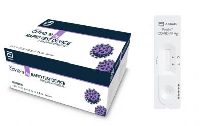Nuevo test de antígenos Panbio COVID-19 Ag Rapid Test de la casa Abbott