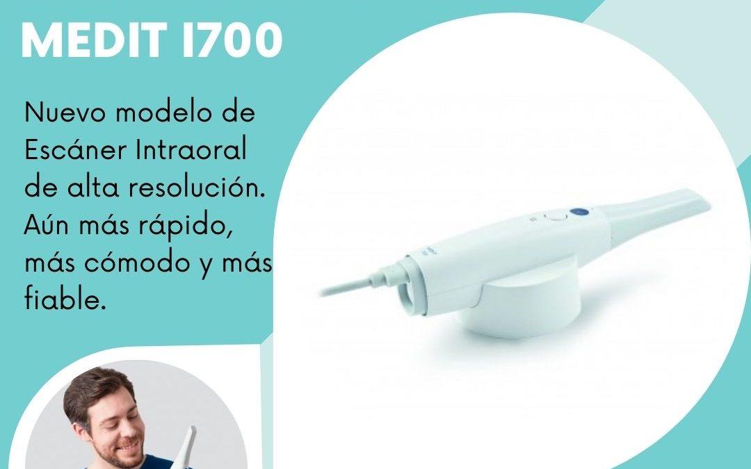 NOVEDAD! ESCÁNER INTRAORAL MEDIT I700